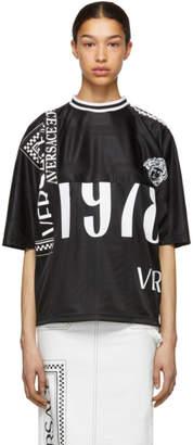 Versace Black Logo Mix T-Shirt
