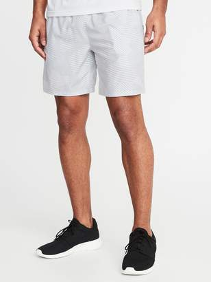 Old Navy Printed Quick-Drying 4-Way Stretch Run Shorts for Men - 7-inch inseam