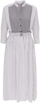 Sandro Striped Shirt Dress
