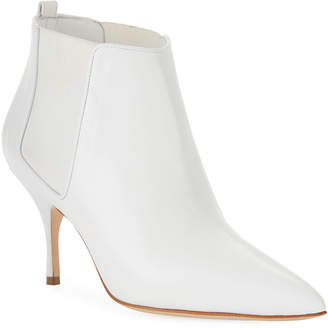 Manolo Blahnik Dildi 70mm Leather Booties