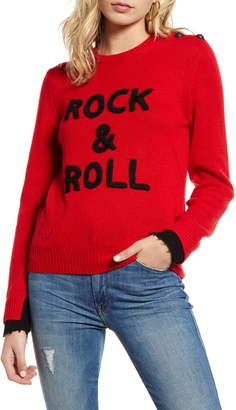Zadig & Voltaire Delly Rock & Roll Cashmere Sweater