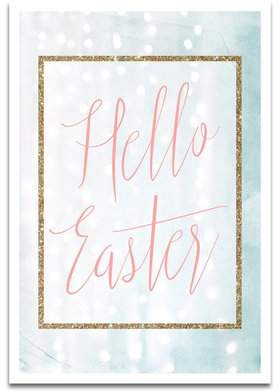 Wayfair 'Hello Easter' Textual Art