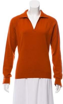 Loro Piana Collared Cashmere Sweater