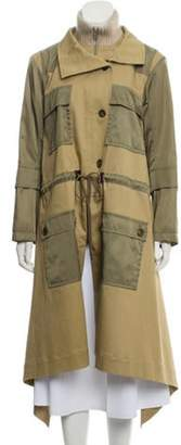 Chloé Long Utility Coat w/ Tags Tan Chloé Long Utility Coat w/ Tags
