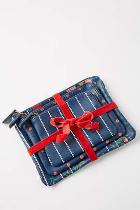 Anthropologie Holiday Pouch Gift Set