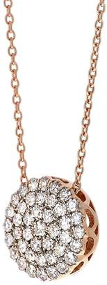 Selim Mouzannar 0.53 Carat Diamond Circle Necklace