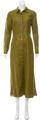 Kenzo Linen Maxi Dress
