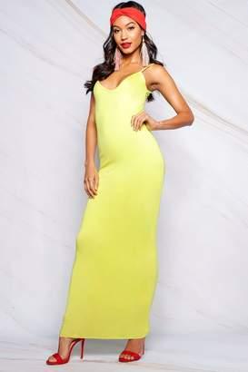 boohoo Erin Plunge Strappy Maxi Dress
