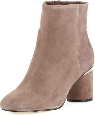 Karl Lagerfeld Paris Fiona Block-Heel Booties