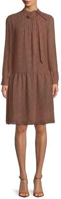 Mikael Aghal Women's Dropped Waist Shift Dress