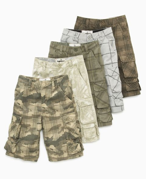 Mission Bay Boys Printed Cargo Short