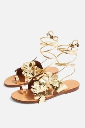 Topshop FLOWER Toe Loop Sandals
