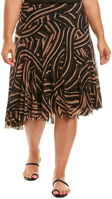 Fuzzi Plus A-Line Skirt