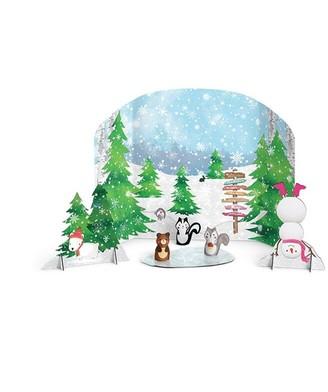 Wellie Wishers -Winter Woods Stage Accessories