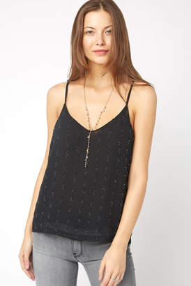 Knot Sisters Greta Beaded Tank Top