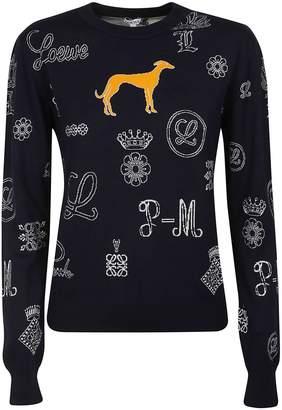 Loewe Intarsia-knit Jumper