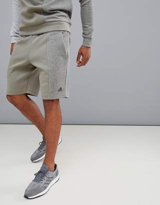 adidas ID Stadium Remix Shorts In Khaki CX4160