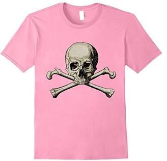 Skull and Crossbones: Vintage T-Shirt Design