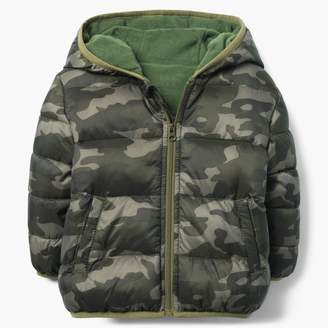 Gymboree Camo Puffer Jacket