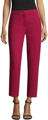 Escada Women's Wool High Rise Cropped Pant