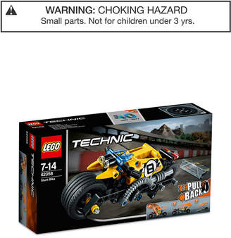 Lego 140-Pc. Technic Stunt Bike 42058