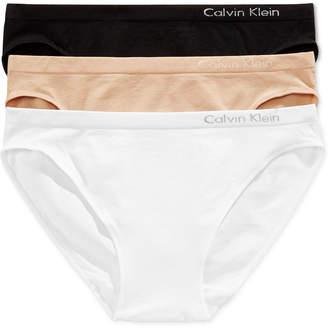 Calvin Klein (カルバン クライン) - Calvin Klein Seamless Bikini 3-Pack QD3564