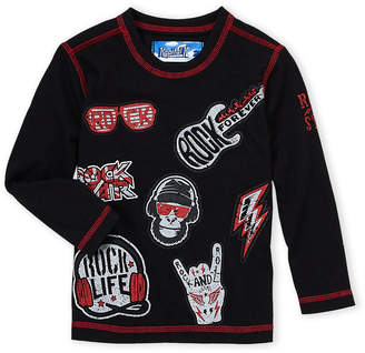 Kapital K (Toddler Boys) Rock Star Long Sleeve Tee