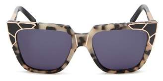 Pared Eyewear Women's Charlie & The Angels Square Sunglasses, 53.5mm