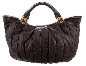 Miu Miu Quilted Leather Bag