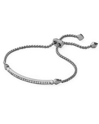 Kendra Scott Ott Adjustable Chain Bracelet in Hematite