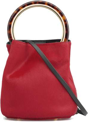 Marni Cow Hide Bucket Bag