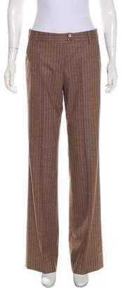 Etro Wool Wide-Leg Pants
