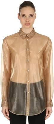 Jil Sander Pinstriped Sheer Shirt