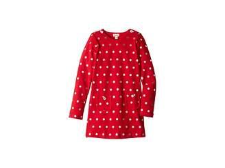 Hatley Holiday Dots Mod Dress (Toddler/Little Kids/Big Kids)