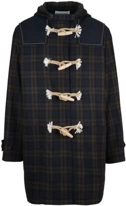 Loewe Tartan Toggle Coat