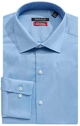 Van Heusen Long-Sleeve Button-Down Dress Shirt