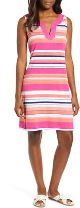 Tommy Bahama Bold and Bolder Stripe Cotton Shift Dress