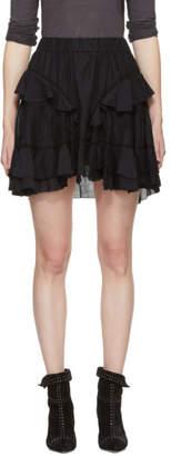 Etoile Isabel Marant Black Varese Miniskirt