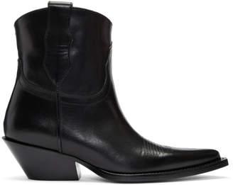 Maison Margiela Black Cowboy Boots