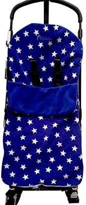Maclaren Snuggle Footmuff/Cosy Toes Compatible with Techno XT/Quest/XLR/Volo Blue Star
