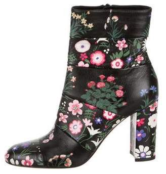 a14e56b3b6 Valentino Garden Floral Ankle Boots