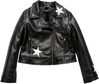MonnaLisa Faux Leather Biker Jacket