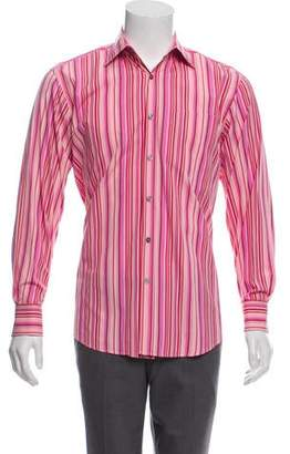 Paul Smith French Cuff Striped Shirt