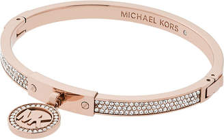 Michael Kors Rose Gold Hinged Bracelet ShopStyle
