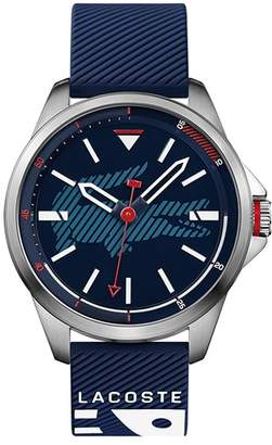 Lacoste Men's Capbreton Watch with Blue Silicone Strap