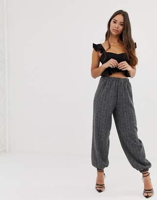Love woven joggers