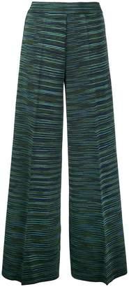 M Missoni knitted palazzo pants