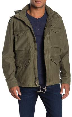 Lucky Brand Field Faux Fur Lined Jacket with Removable Vest