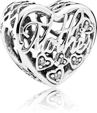 Pandora Mother & Son Heart Charm