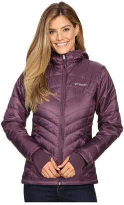 Columbia - Mighty Lite Hooded Plush Jacket Women's Coat $130 thestylecure.com